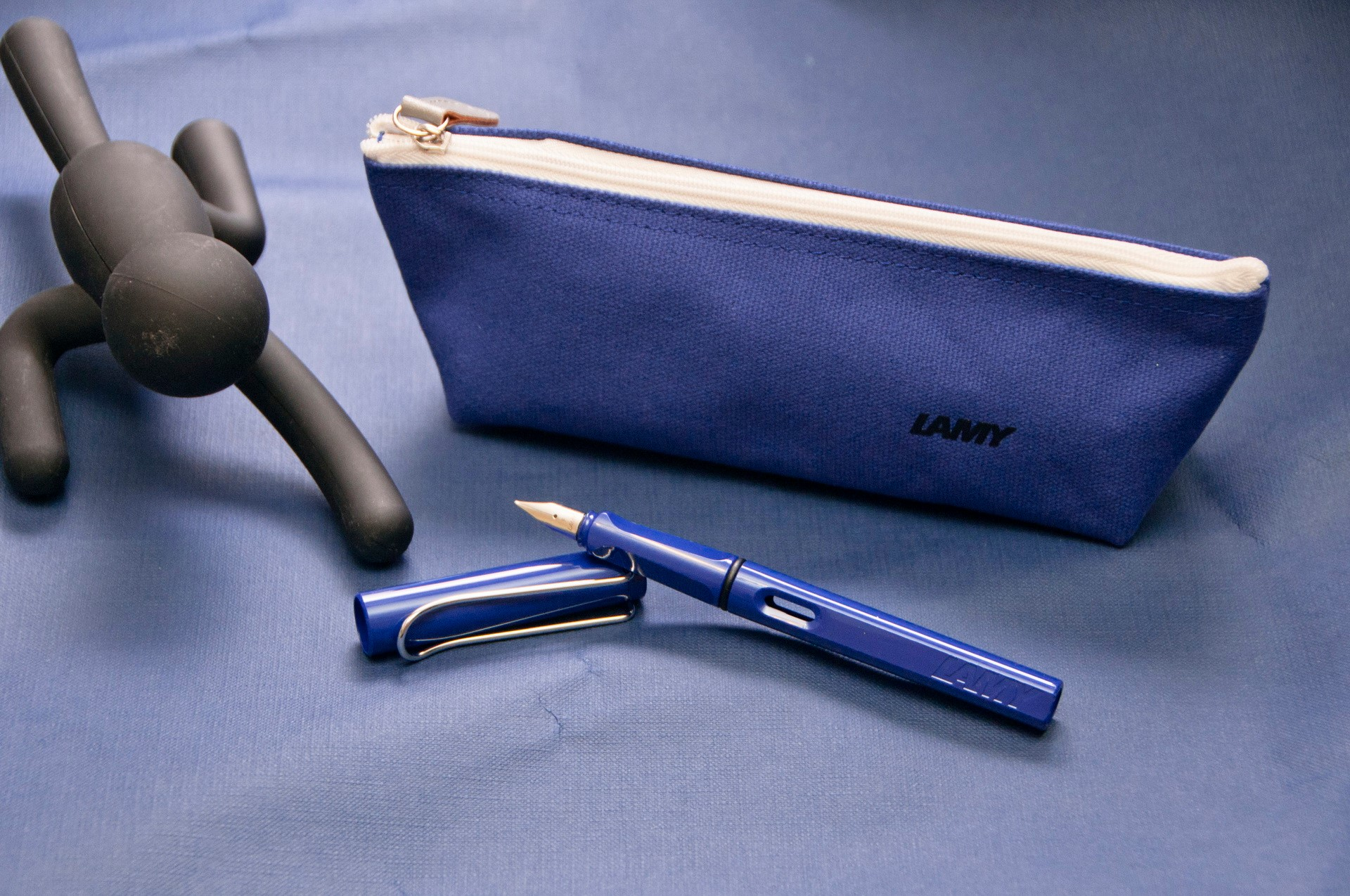 LAMY風格筆袋-藍色