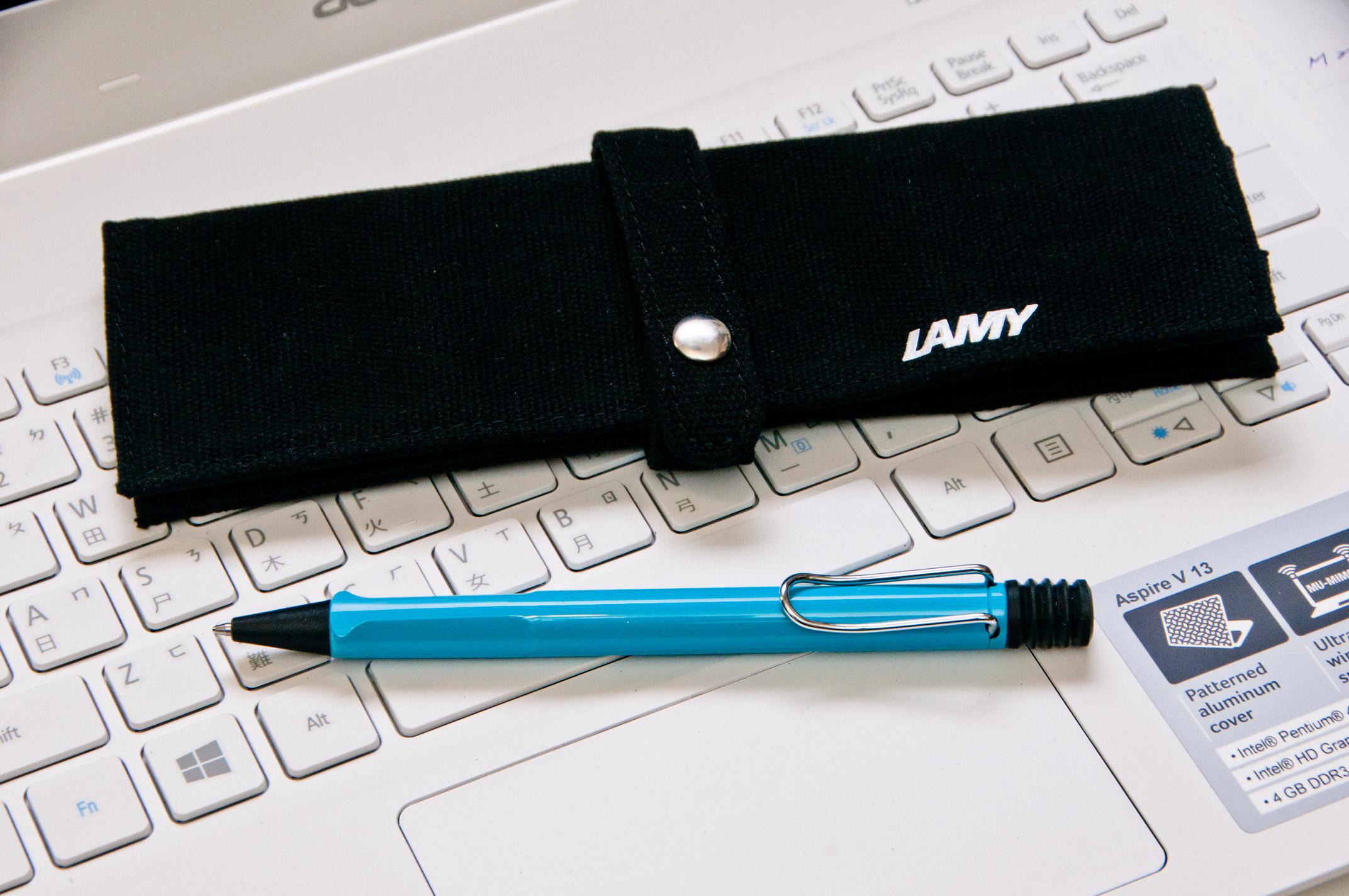 LAMY捲軸筆袋-黑色
