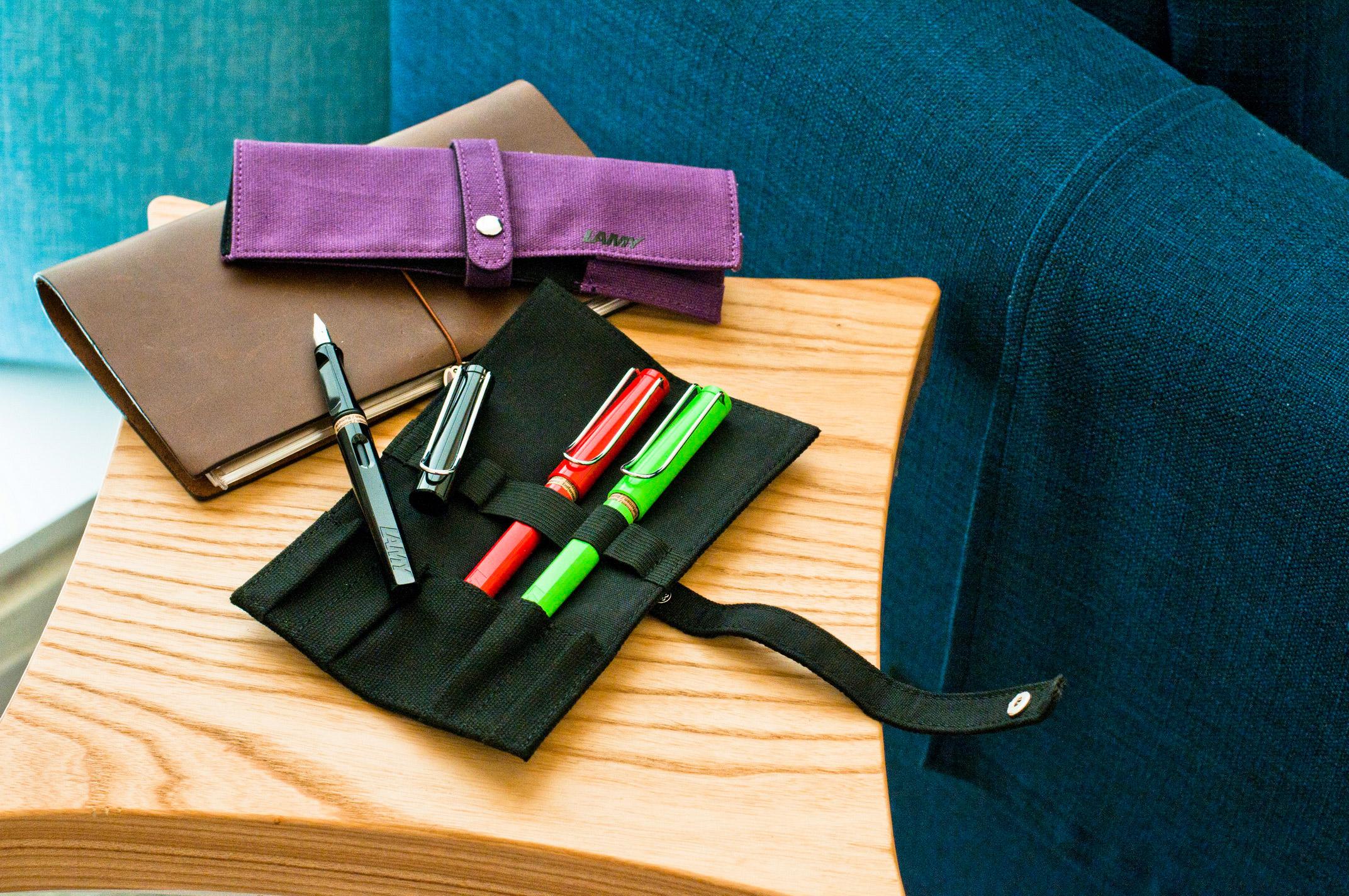 LAMY捲軸筆袋-紫色